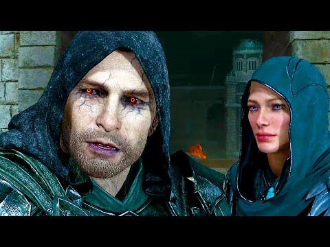 Shadow of War - All Sauron and Nazgul Cutscenes
