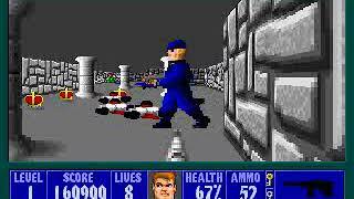 Wolfenstein 3D Episode 1, Floor 1 (2/2)