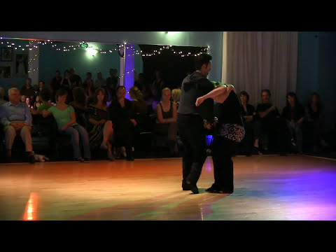 Jordan and Tatiana Saturday Night Demo Dance in Seattle