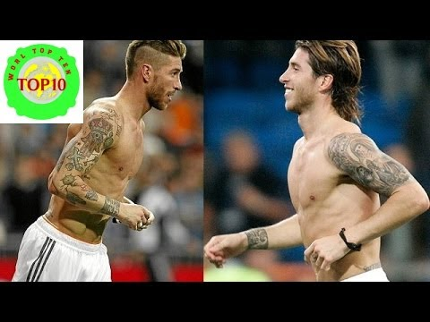 Top 10 Most Tattooed Footballers in World Cup 2014