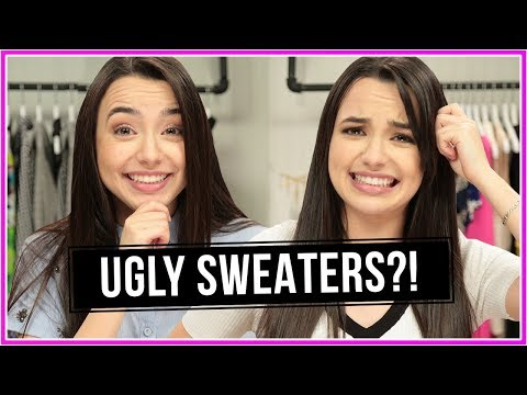*UGLY* SWEATER CHALLENGE!? | Closet Wars w/ Merrell Twins