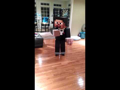 Tuxedo Steve Minecraft Costume ~ Storm