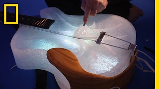 Coolest Concert Ever? Hear Ice Instruments Play Beautiful Music | Short Film Showcase