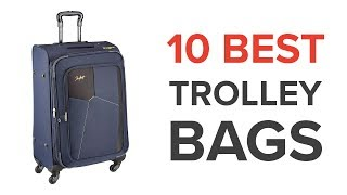 10 Best Trolley Bags in India with Price