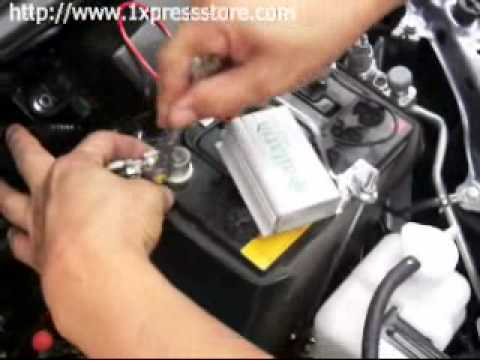 Car Battery Desulfator Installation in 2 Minutes