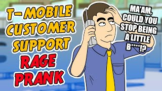 T-Mobile Customer Support Rage Prank - Ownage Pranks