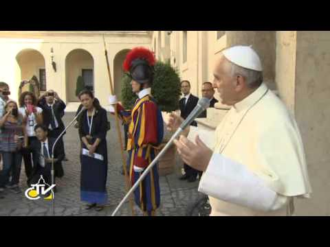 Pope Francis: There can't be peace without dialogue