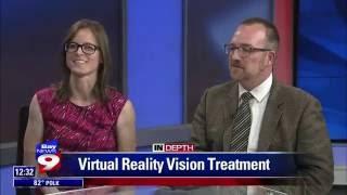 Dr. Nate & Betsy on Bay News 9: Vivid Vision Virtual Reality Vision Therapy