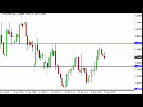 EUR/USD Technical Analysis for August 18 2015 by FXEmpire.com