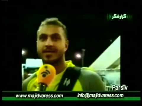 گزارشگر ۱۷ آ�ر�� بر رس�� ات�ا�ات باز� پرسپ���س � است�� آذ�� www.majidvaress.