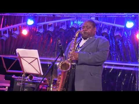 Pee Wee Ellis blues solo at JazzAscona 2012