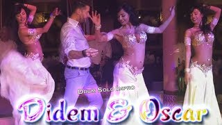 Didem Kinali Oscar Flores Belly Dance Drum Solo Improvisation