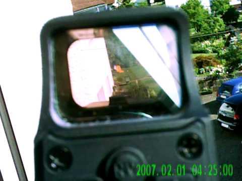 Test meins Eo-Tech Klons und meiner neuen Kamera