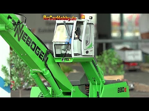 RC TRUCKS, RC MODELS, CONSTRUCTION SITE ACTION NUFAM Karlsruhe 4