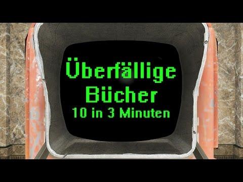 Fallout 4 Guide: Überfällige Bücher - 10 In 3 Minuten