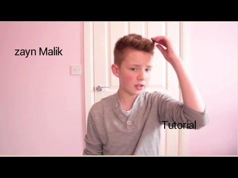 ZAYN MALIK (ONE DIRECTION) HAIR TUTORIAL   Tim Newman