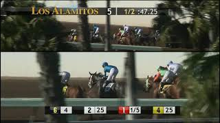 IMPROBABLE wins impressively in the Cash Call Futurity at Los Alamitos 12 8 18