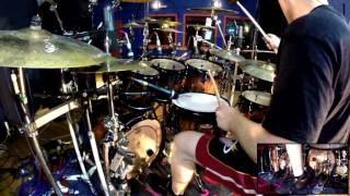 NE OBLIVISCARIS Dan Presland - Pyrrhic (Drum Playthrough)