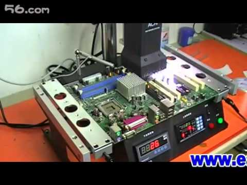 ACHI IR6000 BGA Rework  Demo Video