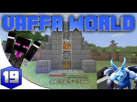 MINECRAFT : VAFFA WORLD - FARMING POLLO AUTO. #19