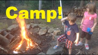 Family Camp Trip! (vlog)