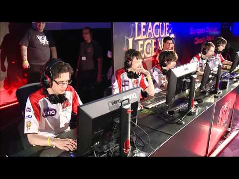 Round 1 : Crs.eu vs M5 - Match 1 - LoL ECC: Poland, Warsaw 28-29.07.2012