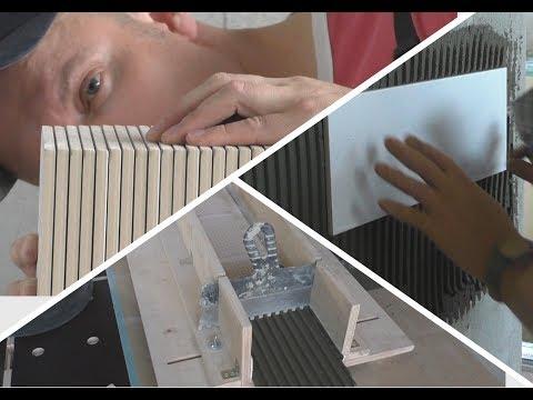 Как сделать станок для нанесения клея за 10 минут? Тонкости работы с плиткой . DIY