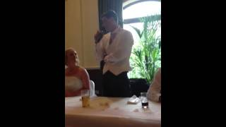 Sam's Groom Speech