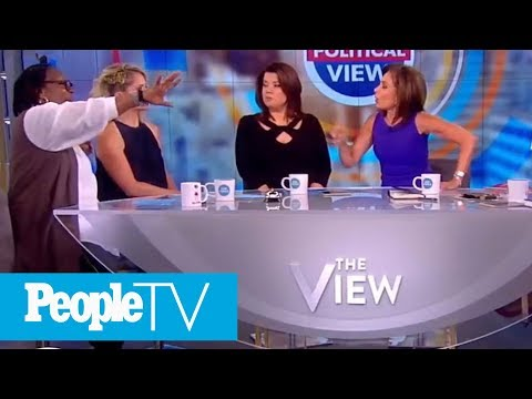 Whoopi Goldberg Gets Into Screaming Match With Fox News' Judge Jeanine Pirro On The View | PeopleTV