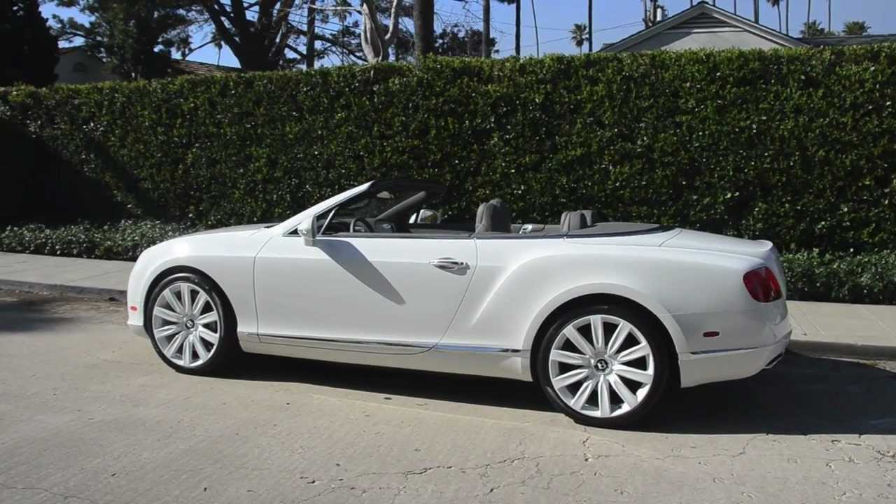 Bentley Gtc With White Wheels Symbolic Motor Car Company