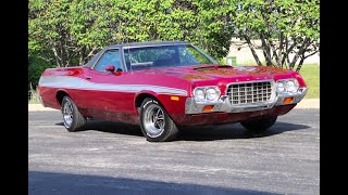 1972 Ford RANCHERO GT ***FOR SALE***