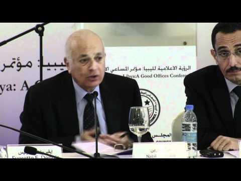 Nabil El Araby (Part 2) at Libya Conference, Secretary General of the Arab League