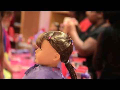 American Girl Doll Summer Hairstyle!