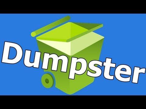 Como recuperar archivos eliminados en android | Dumpster