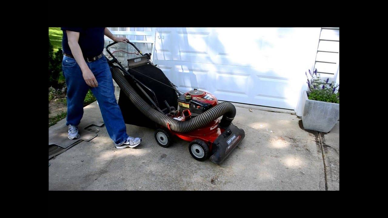 Craftsman Yard Vacuum 4 5 : Craftsman hp in chipper blower shredder vacuum
