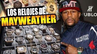 Estos son los relojes mas caros de Floyd Mayweather, Jr  -VICTOR CABALLERO