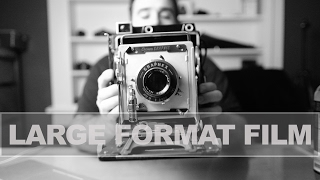 Talking Large Format and my Crown Graphic 4x5