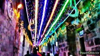 Белая ночь в Иерусалиме,или Тысяча гирлянд старого города.
