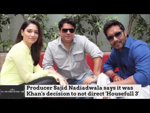 Producer: Sajid Khan himself wanted to exit 'Housefull 3'