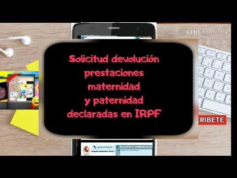 Solicitud Devolución Prestación Maternidad IRPF -Todo lo que tienes que saber