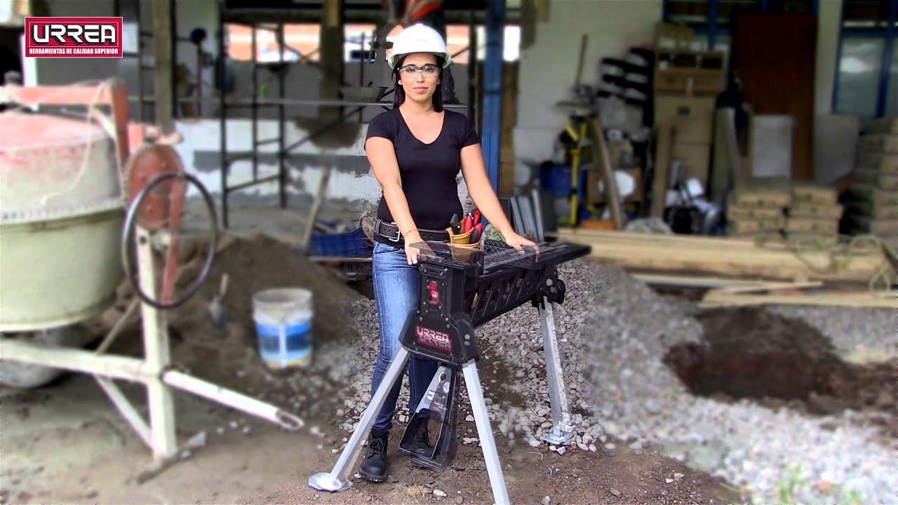 Prensa o banco de trabajo port til urrea youtube - Como hacer un banco de madera ...