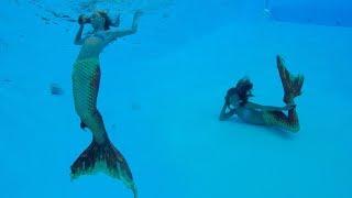 Carla Underwater Mermaid in deep pool