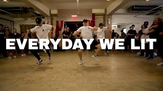 "download lagu Yfn Lucci Ft. Pnb Rock ""everyday We Lit"" Dance gratis"