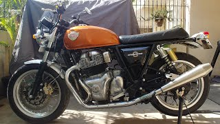 Installing AEW Exhaust On Royal Enfield Interceptor 650: Indian Vance And Hines?