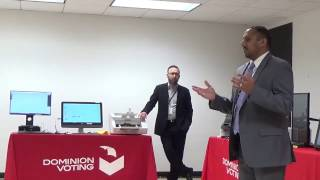 Voting Equipment Expo: Dominion Voting Systems Presentation