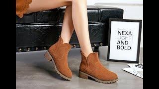2017 Hot Style Women Flat Boots AliExpress