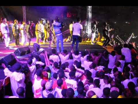 Shatta excites his fans at Guinness Big Eruption Concert