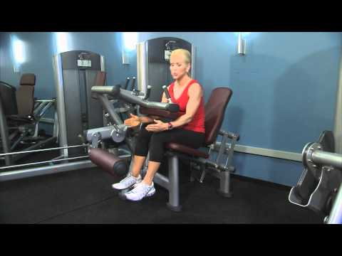 Life Fitness Signature Series Seated Leg Curl Instructions Image 1