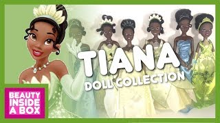 Tiana - Disney Princess Doll Collection (2018 Update) - Beauty Inside A Box