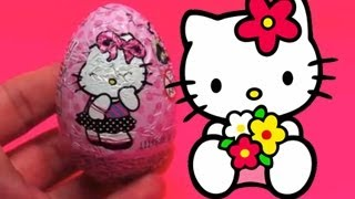 Hello Kitty Surprise Chocolate Egg Unboxing